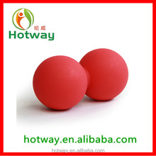 China Wholesale Best Quality Deep Tissue Massage Peanut Ball Silicone Colorful Peanut Shape Ball for Yoga Products