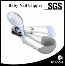 New Lovely Mini Baby Nail Care Practical Clipper,Nail Clipper with magnifying glass Magnifying Nail Clipper