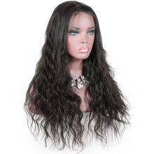 african american human hair wigs natural wave lace frontal 360 wig with pre plucked hairline