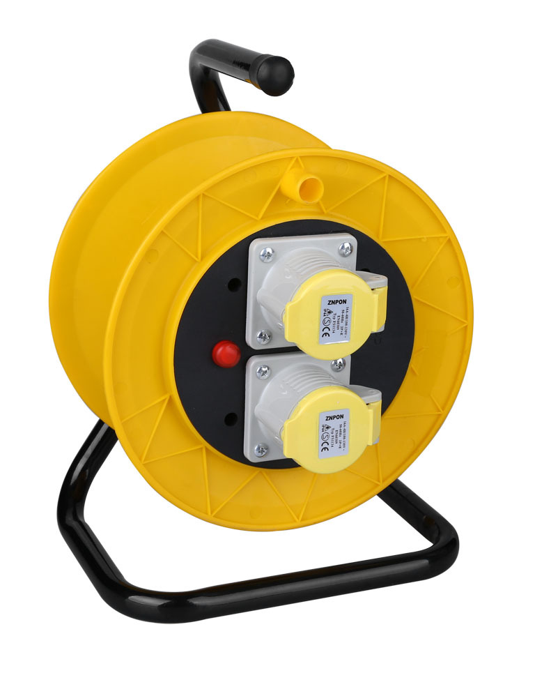 Cable Reels Product : Cable reel cee plug and sockets v a extension cord