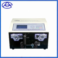 AM607-3 On sale cable stripping machine automatic double coaxial wire stripping and cutting machine