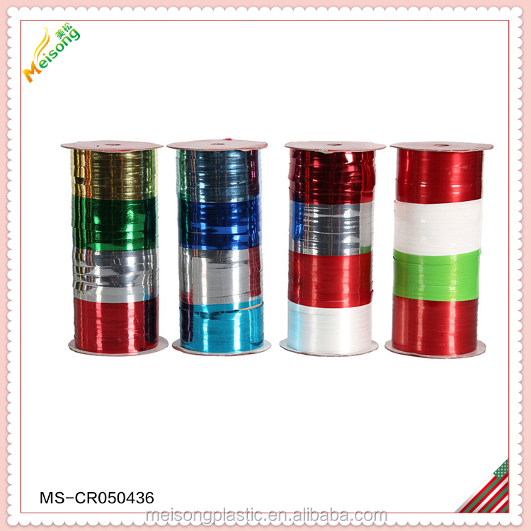 celebrating pp color ribbon for sport game and party decoration
