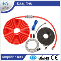 Hot selling Car Amplifier of Subwoofer Line Outfit Wire Power Amplifier Installation Cables