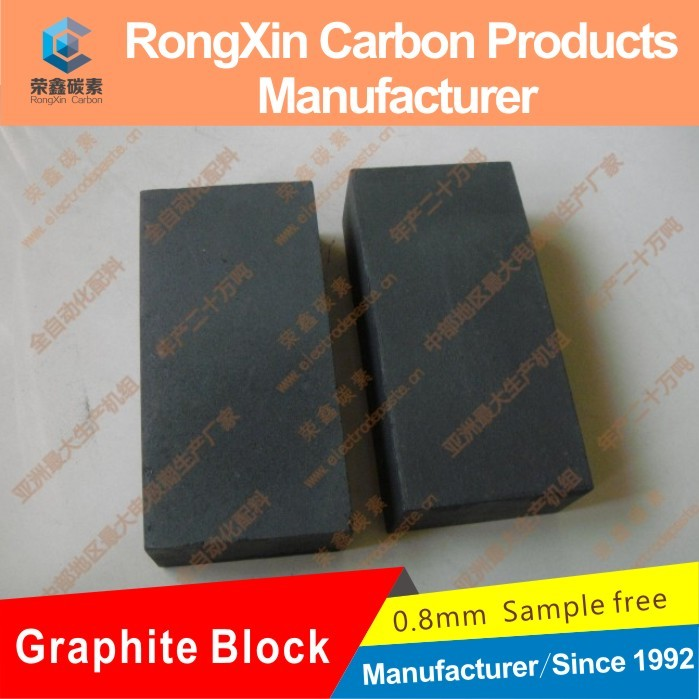 manufacturer impregnated graphite bloc for carbon brush