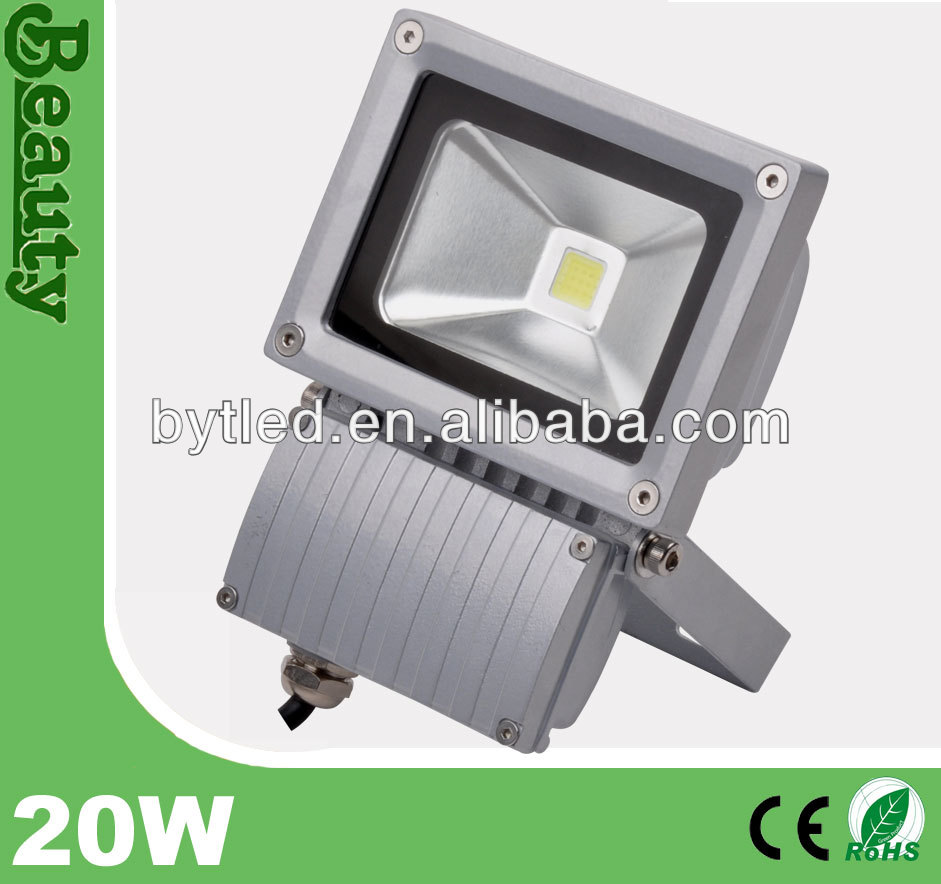 outdoor 20w stadium square portable projector led flood light