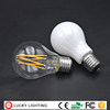 china manufacturer AC DC 12V 24V 36V 4w 6w 8w led bulbs E27 E14 B22 dimmable filament bulb