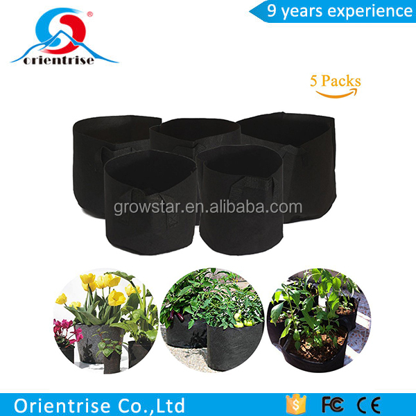 5 Gallons Fabric Pots Grow Bags with Handles