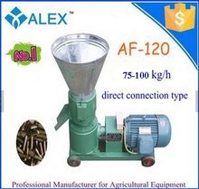 poultry feed grinder mixer AF-120 animal feed pellet machine for sale in Romania