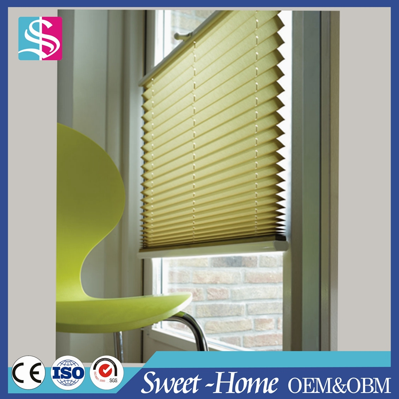 home interior plisse curtain of pleated blind fabric in new curtain designs