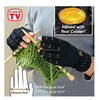 2016 best selling heated fingerless Compression Arthritis Gloves copper gloves