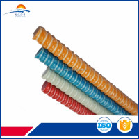 High torsion all thread construction rod