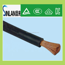 flat cable 16mm rubber insulation welding cable