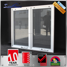 Superhouse Australian standard WERS design double glazed swing and hinged windows