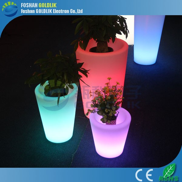 rgb5050 led planter led beleuchtete pflanzer t pfe outdoor. Black Bedroom Furniture Sets. Home Design Ideas