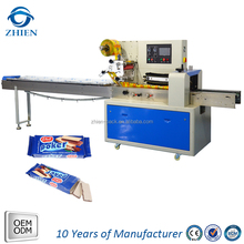 wafer biscuit gusset bag flow packaging machine