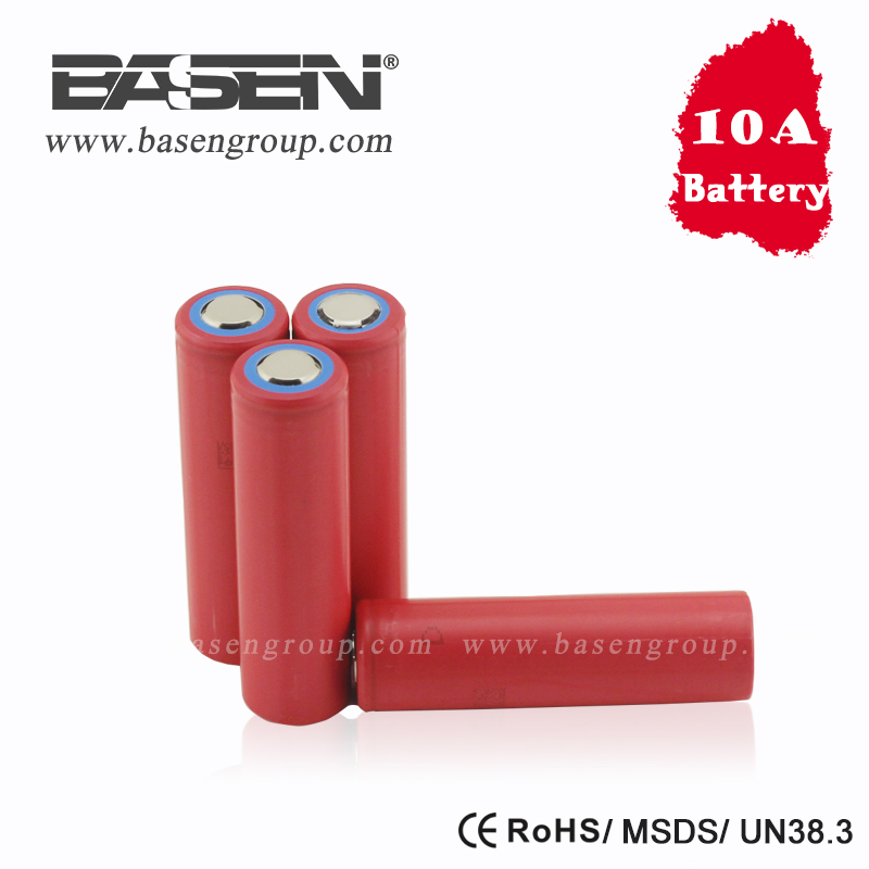 new battery 10A discharge rate highest capacity 3500mah 18650 Sanyo NCR18650GA 3.7V 18650 li-ion battery cell for e- bike