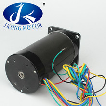 Dc motor with gearbox 24v for treadmill double shaft