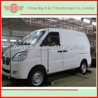 2013 petrol mini cargo van truck with freezer installed for cold foods