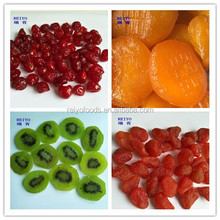 Dried fruits/cherry/kiwi/strawberry/apple