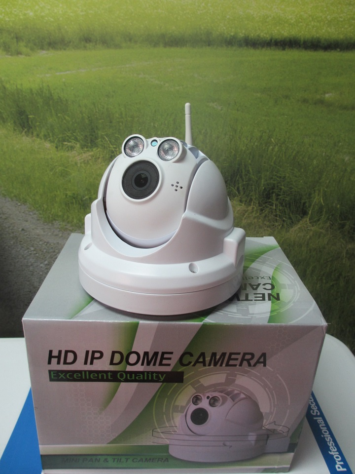 2MP Wireless Wifi HD IP DOME CAMERA EXCELLENT QUALITY MINI PAN&TILT CAMERA