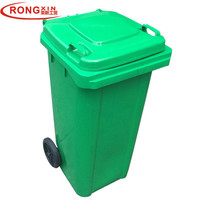 Export HDPE Outdoor storage bin waste container plastic dustbin