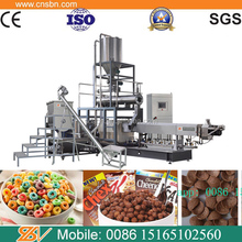 Professional sugar coated cornflakes bulking production making Machine extruder for breakfast cereals