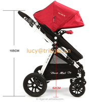 3 in 1 Robber Wheels Small Size Cheap Cotton Baby Stroller