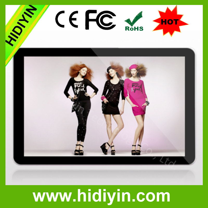 "18.5""Auto turn on / off popular design small advertising display"