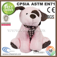 Making custom plush dog toys stuffed animal made in China