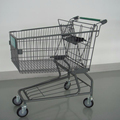 wholesale top quality supermarket shopping trolley for sale