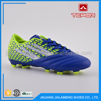 Best design fashional lace-up imported football boots