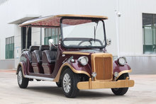 Chinese solar classic car 8-seats for sale