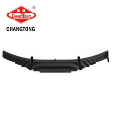 dump heavy truck suspension part parabolic leaf spring factory