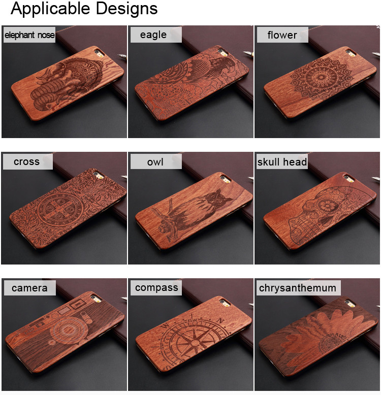 Design your own cell phone case wood phone case laser graving available