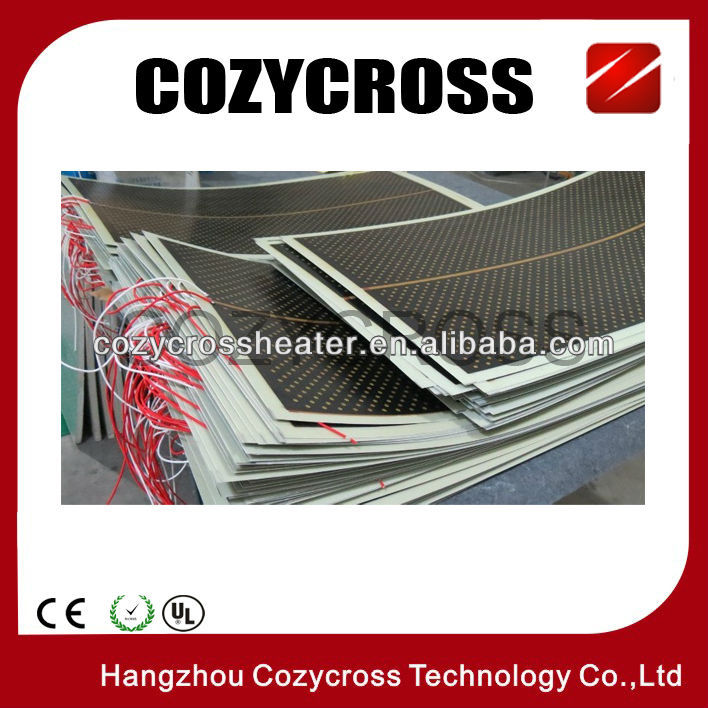 far infrared heating film with 3rd largest manufacture for far infrared carbon crystal heating panels