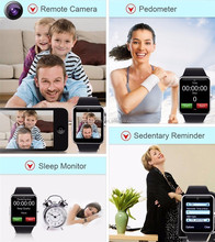 GT08 Touch Screen Smartwatch Bluetooth Smart Watch and Phone Smart Watch Sync for iPhone SIM Mate For Android IOS