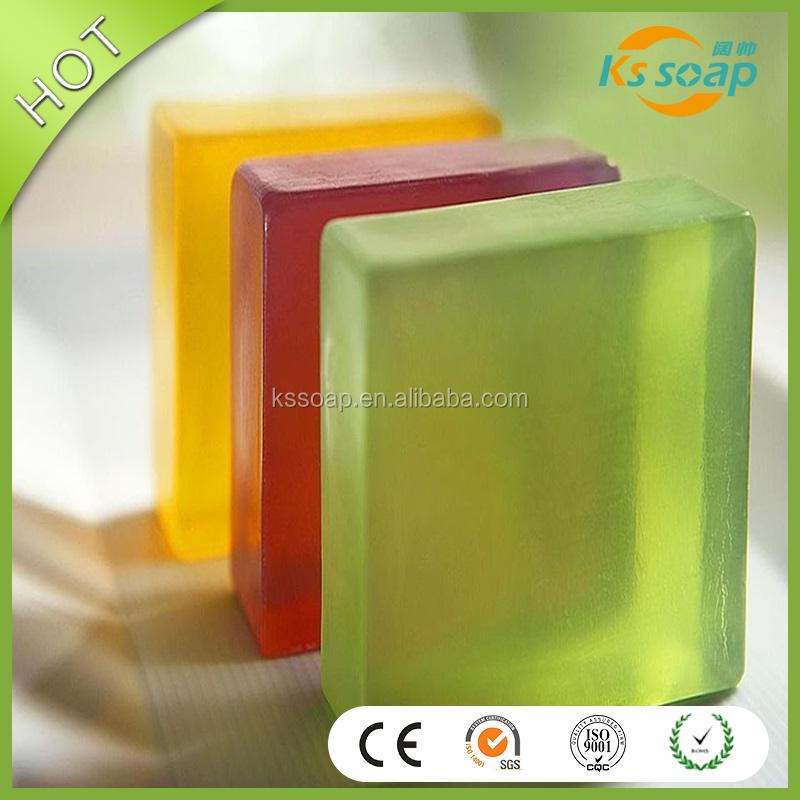 78 % TFM toilet soap,Natural transparent glycerine soap base