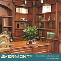 2018 Vermont Latest Antique Wood Office Table Design
