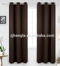 Window sun shade blackout curtain fabric drapery curtains for the living room luxury