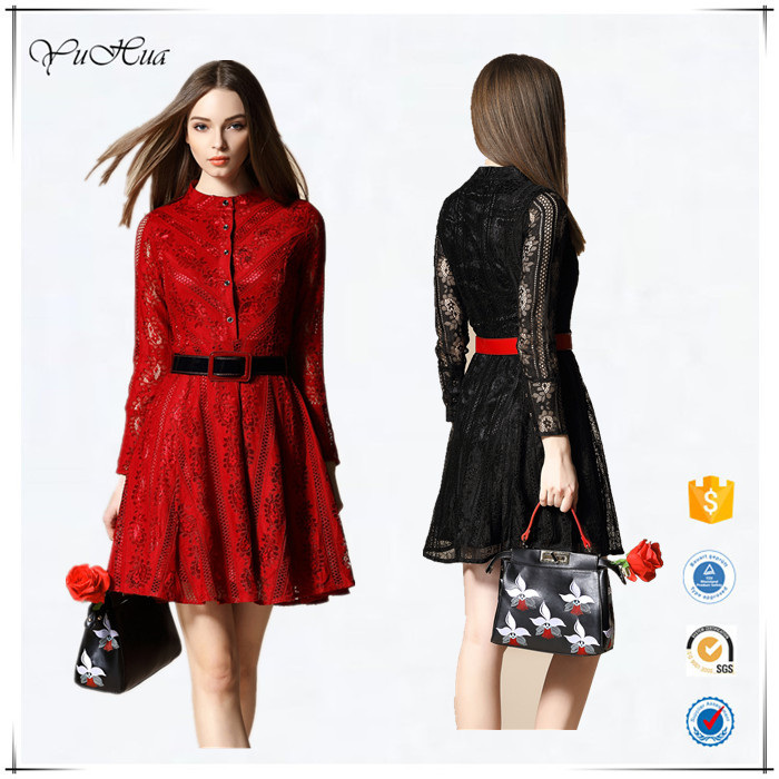 2016 new product latest fashion design ladies modern dress