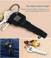 EXCO brand quality flat Key style portable date cable for mobile phone