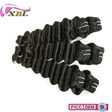XBL 7A Hot Sale Texture Peruvian Hair Loose Deep Wave