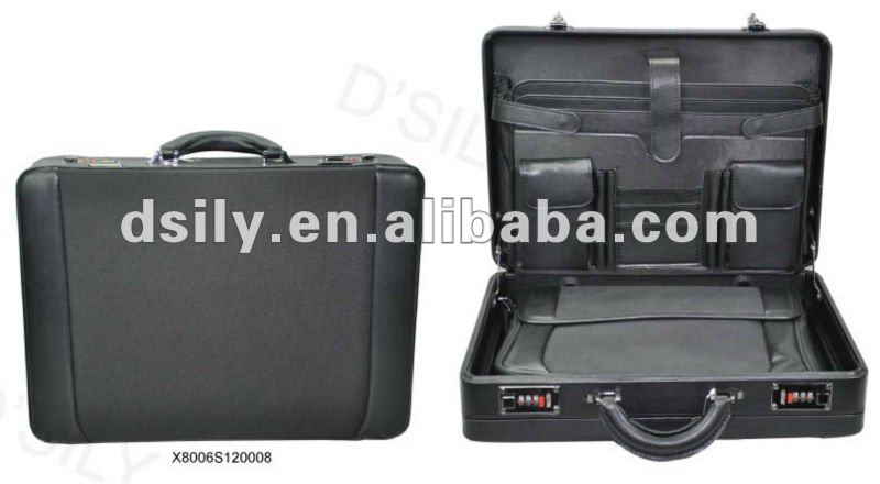 Synthetic Leather Attache Case, PVC Briefcase, X8006S120008