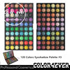 120 Color eyeshadow palette private label eyeshadow palette korean cosmetics tonymoly