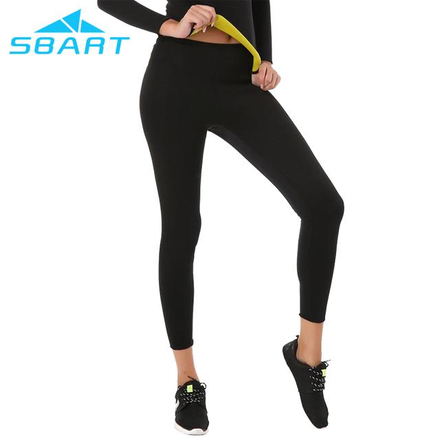 Women Sport Slimming Pants Hot Thermo Neoprene Sweat Sauna Body Shapers Black Pants