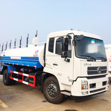 China's famous Dongfeng brand flushing landscaping spray water vehicles