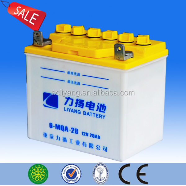 high quality China cargo three wheel motorcycle battery