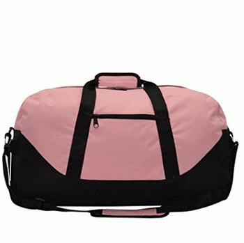 Large duffle bag with adjustable strap waterproof travel duffle bag with custom logo