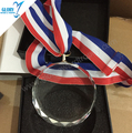 Wholesale customized crystal hand polished medal