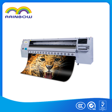 New arrival heavy body Rainbow RK-3304G2 3.2m digital printing machine for flex banner and sticker printing